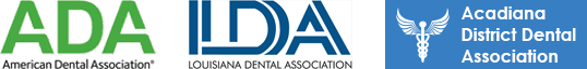 Dr. Jonathan Burbank, D.D.S. - Member of : ADA, IDA and Acadiana District Dental Association